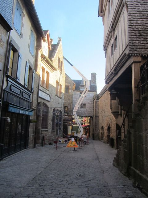 Intervention Mont Saint Michel